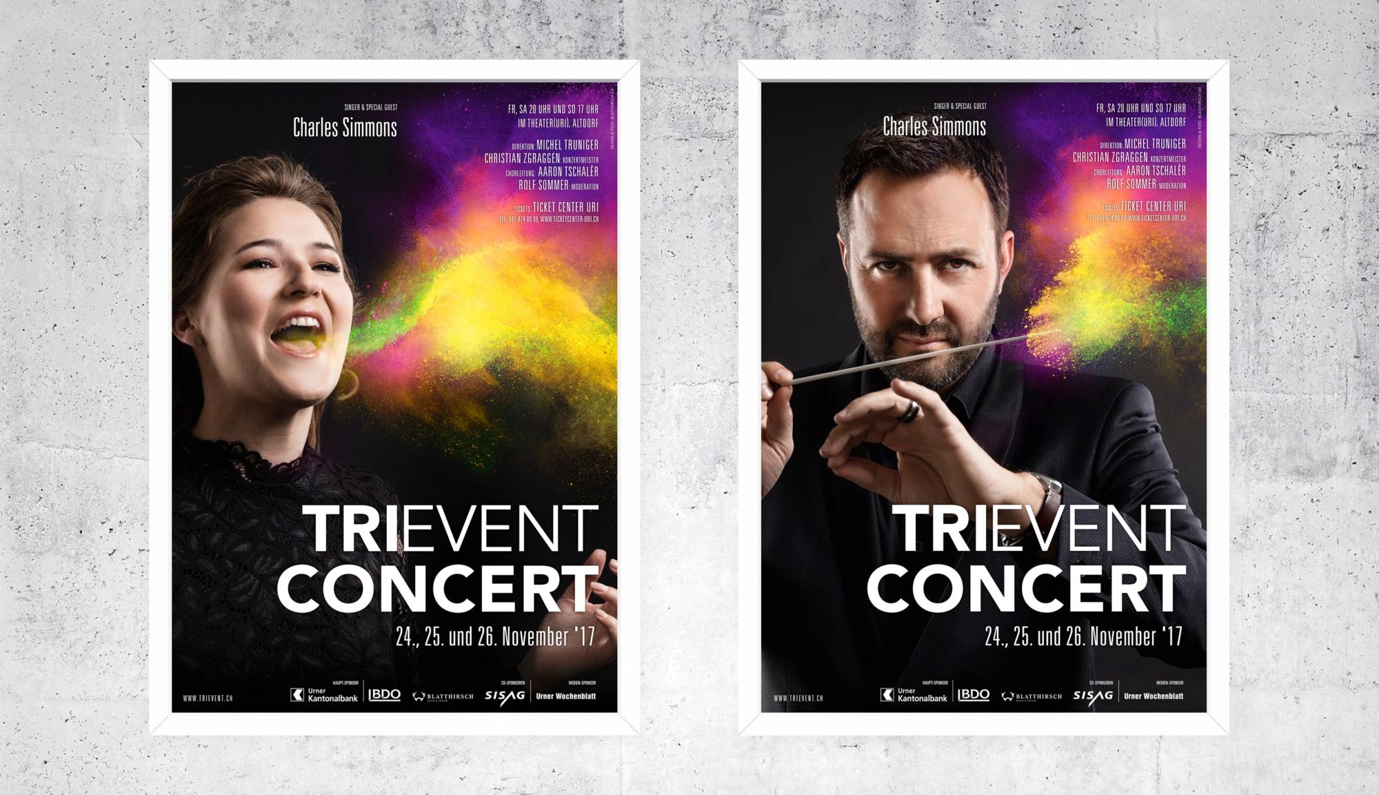 Meier & Kamer Werbefotografie: Trievent F4 Plakate