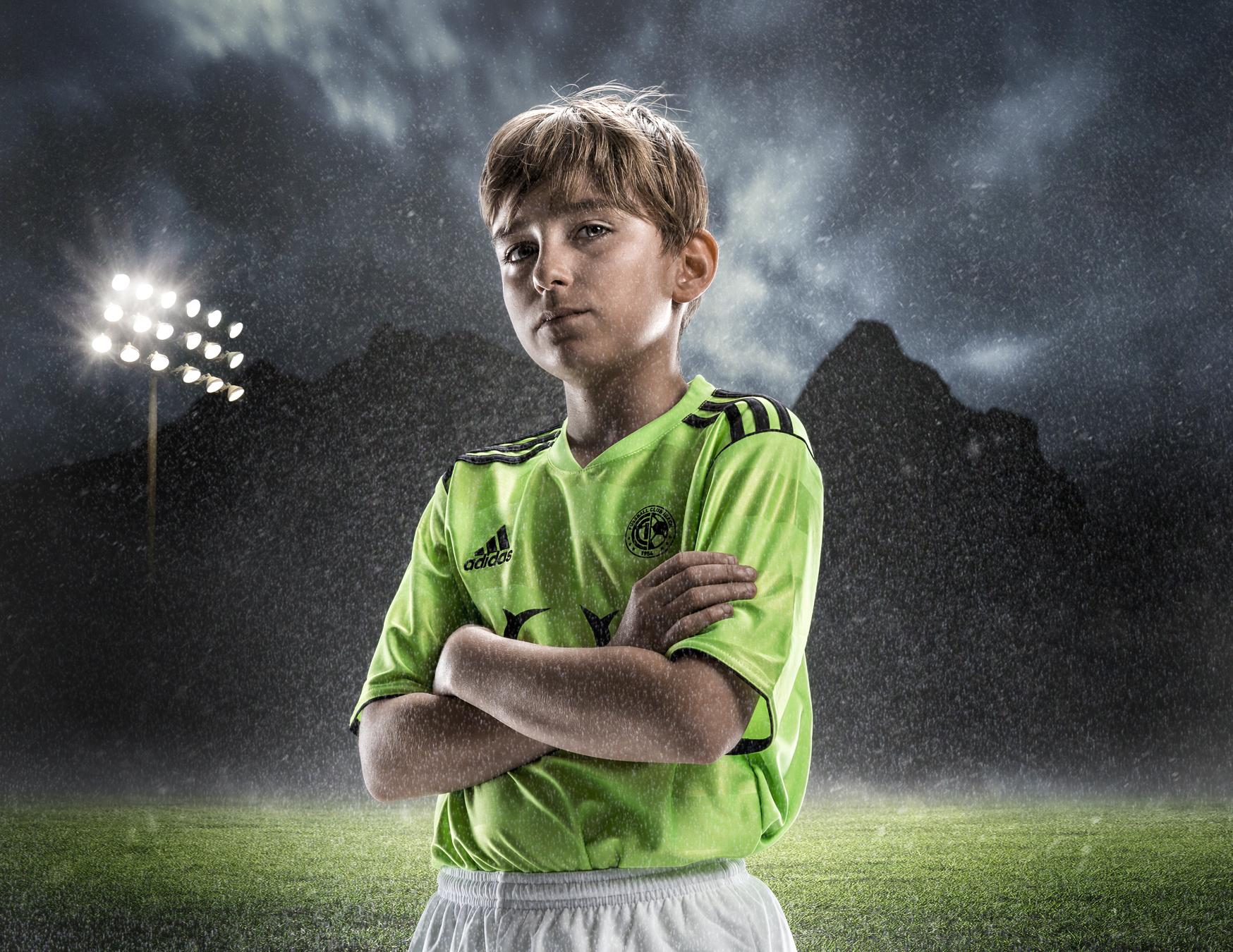 Meier & Kamer Fotografie, Composing und Bildbearbeitung: Junioren FC Ibach