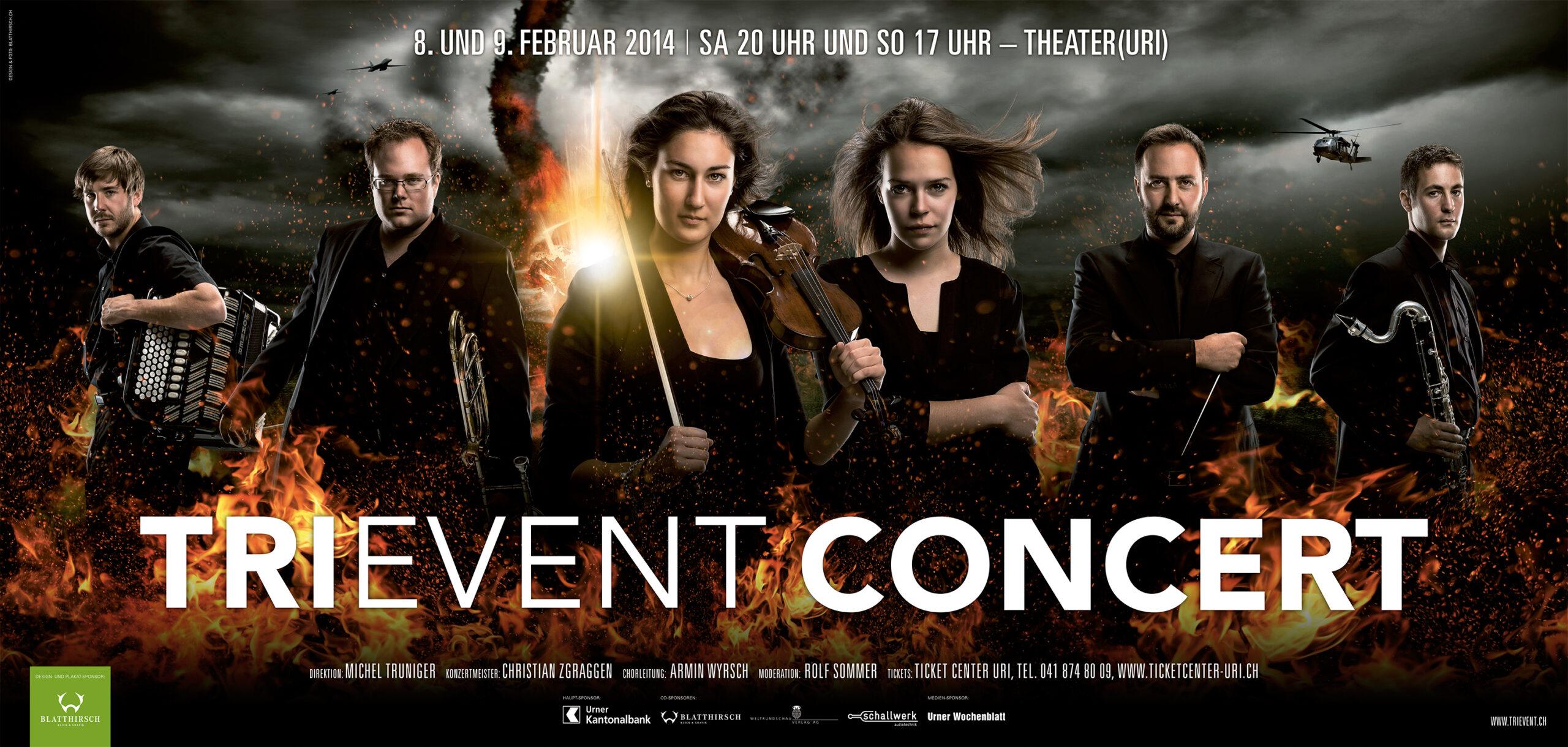 Meier & Kamer Werbefotografie: Trievent F12 Plakate