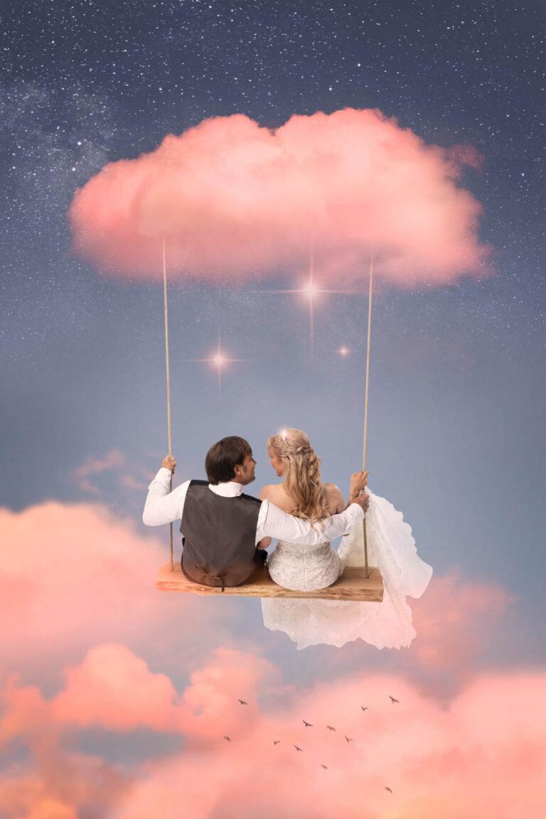 Meier & Kamer Werbefotografie: After Wedding Bild Composing Wolken