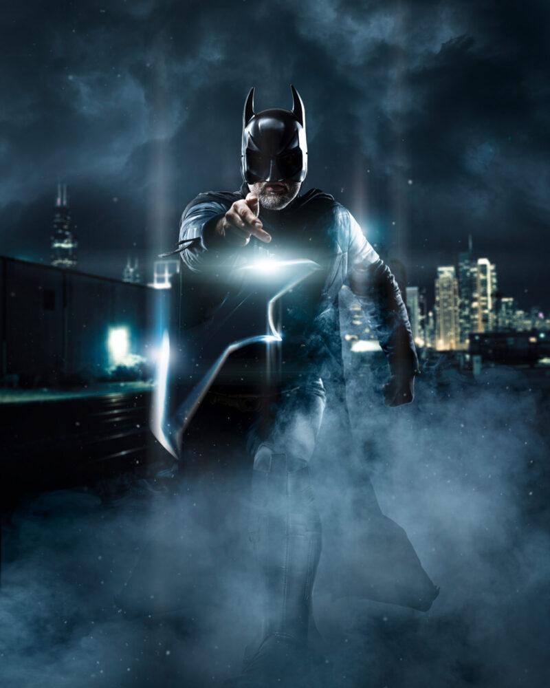 Meier & Kamer Werbefotografie: Bildcomposing Cosplay Batman