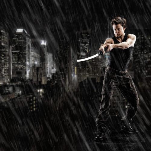 Meier & Kamer Fotografie: Fotoshooting und Bildmontage mit Samurai Schwert