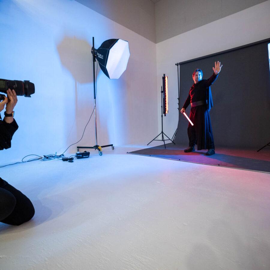 Making-of: Jeannette Meier Kamer fotografiert das Star Wars Cosplay des Kundens | Meier & Kamer Cosplay Shooting