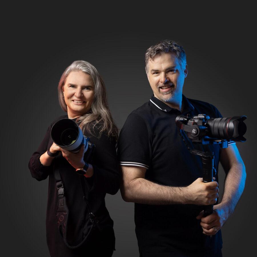 Meier & Kamer das sind: Jeannette Meier Kamer & Ruedi Kamer