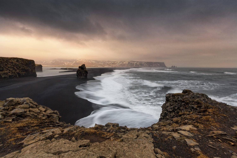 Meier & Kamer Landschaftsfotografie: Meer mit Küste und Klippen bei Dyrhólaey, Island
