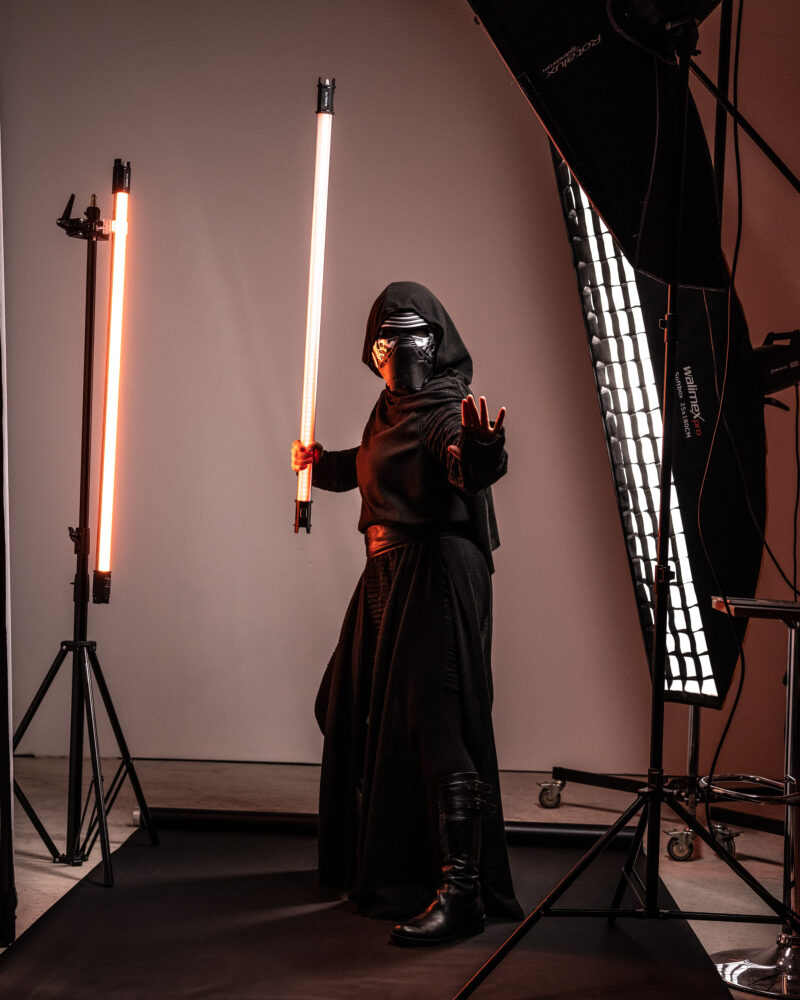 Meier & Kamer Composing, Bildbearbeitung und Retusche: Star Wars Jeannette Meier Kamer - vorher