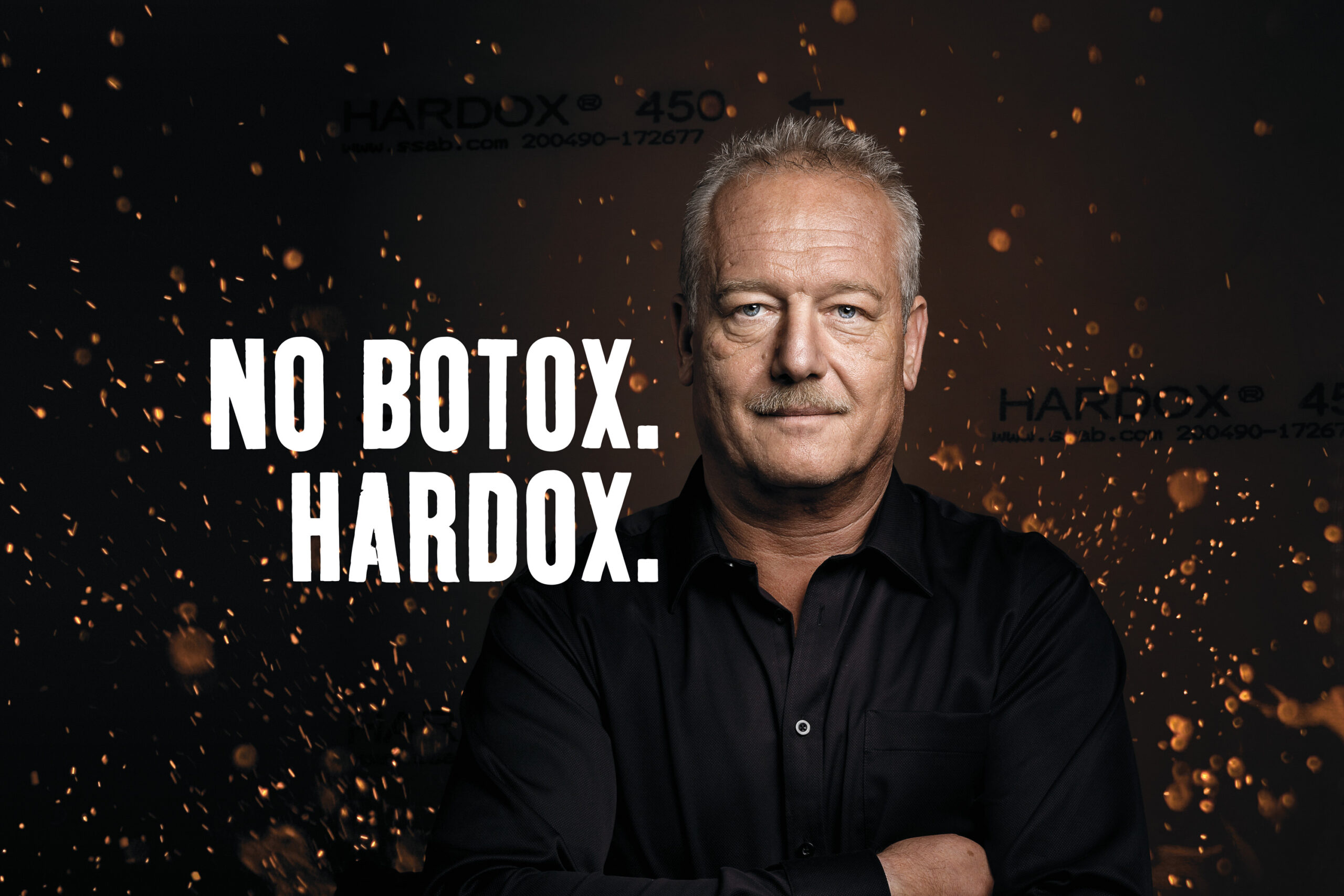 Meier & Kamer Businessfotografie: Cero AG, Robert Cencig, No Botox. Hardox.