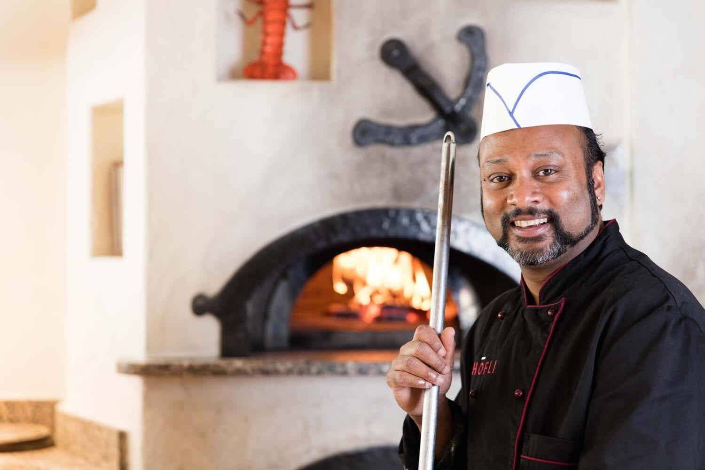 Werbefotografie Meier & Kamer: Pizzaolo mit Pizzaofen Hotel Restaurant Höfli, Altdorf