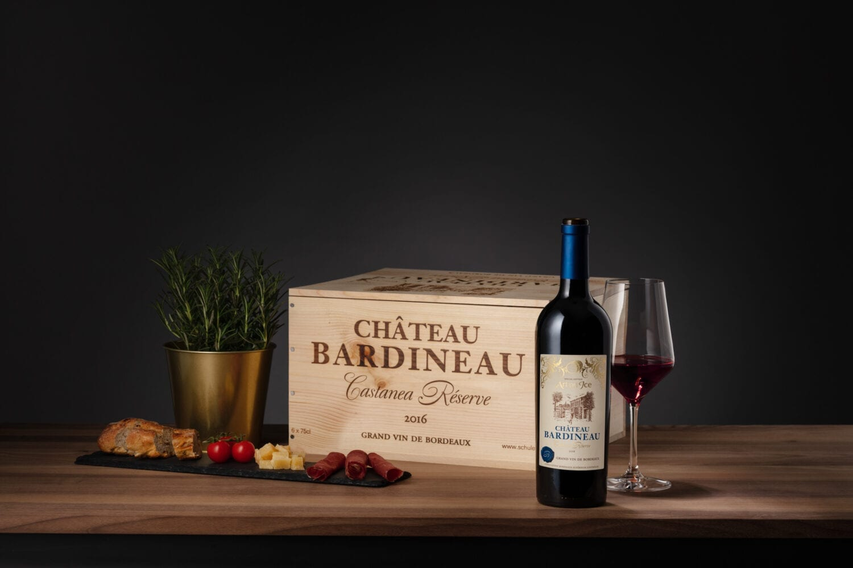 Meier & Kamer Weinfotografie: Chateu Bardineau von Schuler Weine