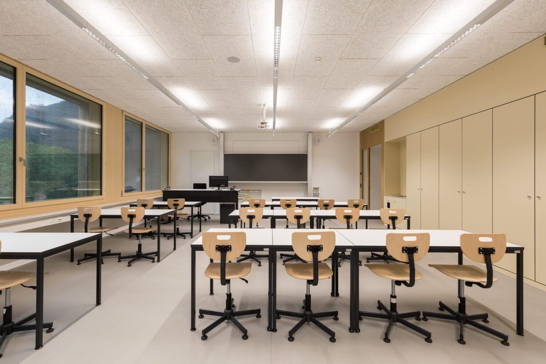 Meier & Kamer Architekturfotografie: Schulhaus Altdorf