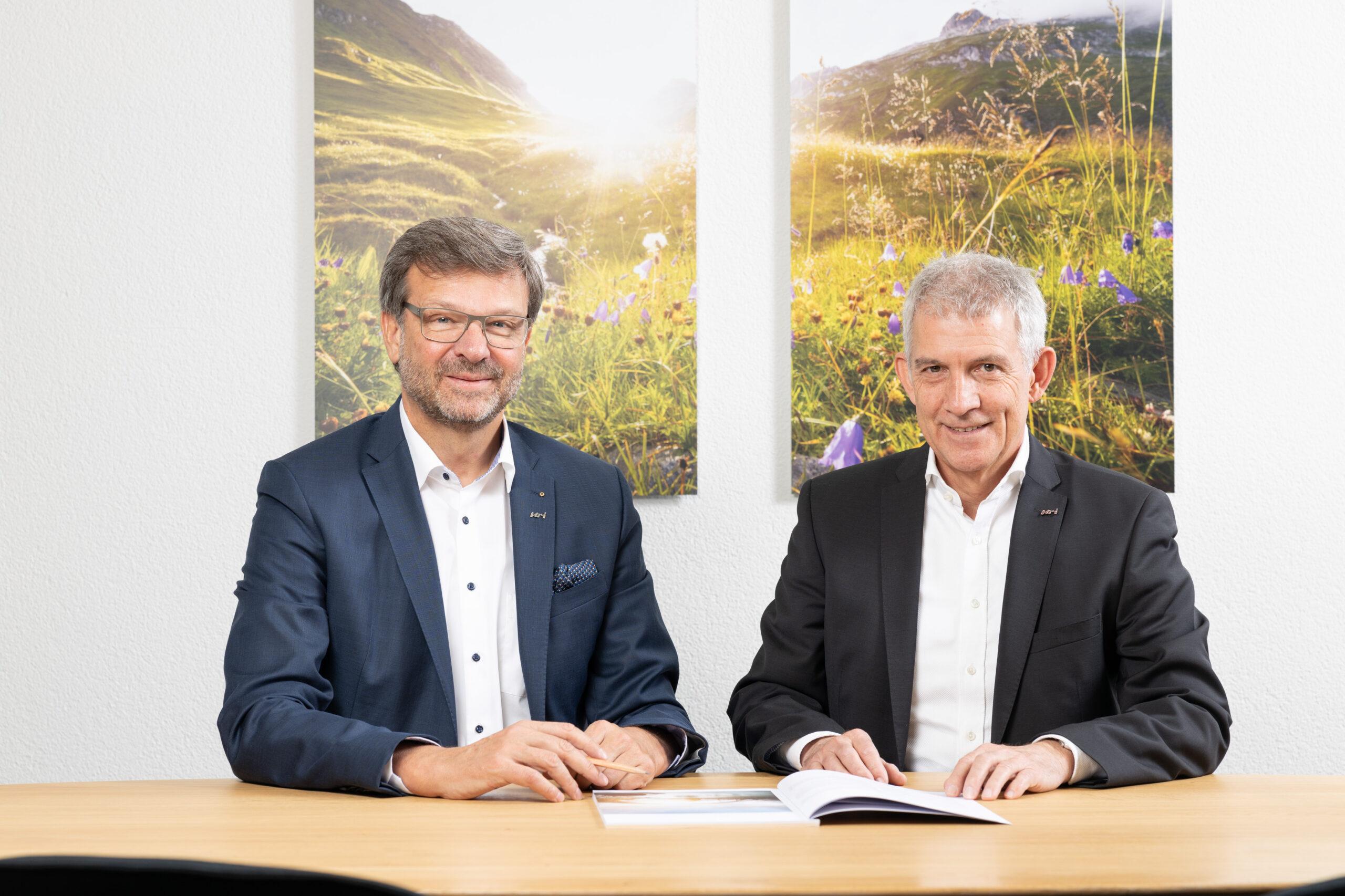 Meier & Kamer Werbefotografie und Businessfotografie: Geschäftsbericht CEO-Fotos Urner Kantonalbank