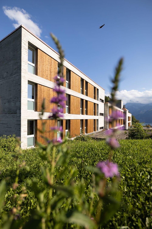 Meier & Kamer Architekturfotografie: Mattli Antoniushaus Vermietung Hotelzimmer