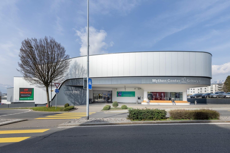 Meier & Kamer Architekturfotografie: Mythen Center Schwyz